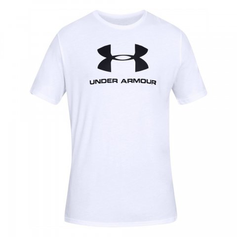 Under Armour UA Sportyle Logo Men's Graphic T-Shirt - White