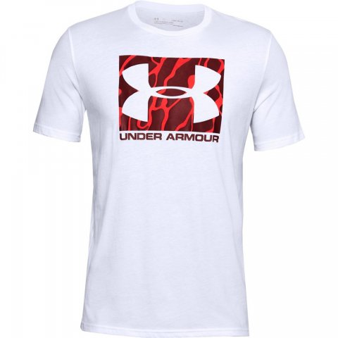 Under Armour UA CAMO BOXED LOGO SS T-SHIRT