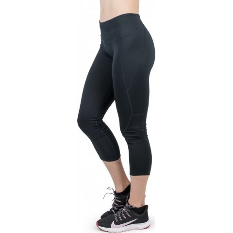 Body Action BODY ACTION WOMEN MID RISE 7/8 LEGGING - BLACK