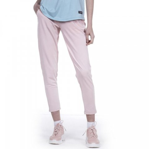 Body Action BODY ACTION WOMEN STRETCH FLEECE PANTS - L.PINK