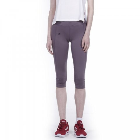 Body Action BODY ACTION WOMEN RUNNING CAPRI - GRANITE