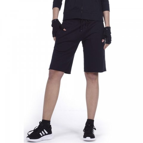 Body Action BODY ACTION WOMEN BERMUDA SHORTS - BLACK
