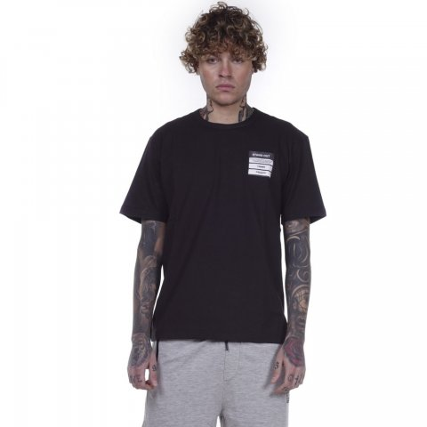 Body Action BODY ACTION MEN CREW NECK T-SHIRT - BLACK