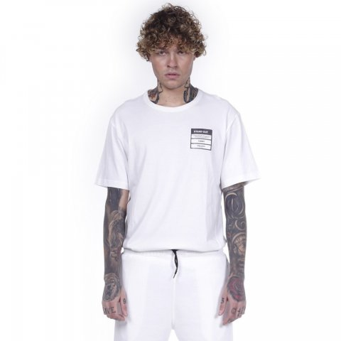 Body Action BODY ACTION MEN CREW NECK T-SHIRT - WHITE