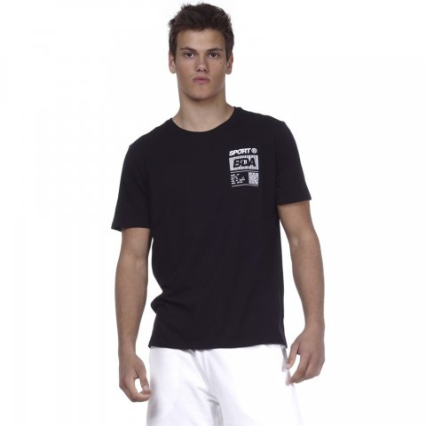 Body Action BODY ACTION MEN RUNNING T-SHIRT - BLACK