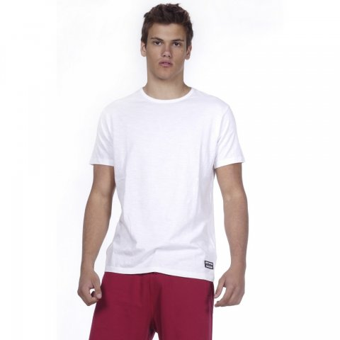 Body Action BODY ACTION MEN CREW NECK T-SHIRT - WΗΙΤΕ