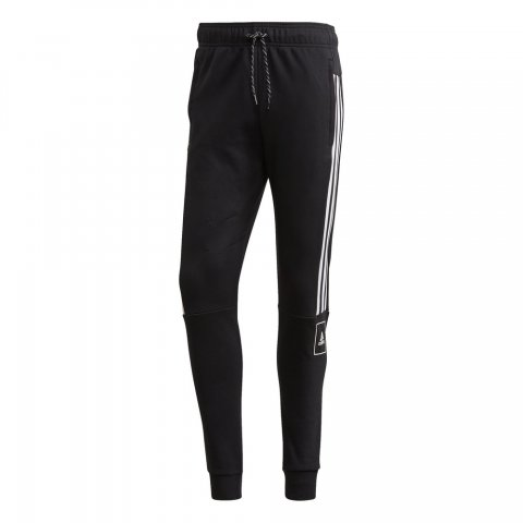 ADIDAS ADIDAS M 3S Tape Pants BLACK/WHITE