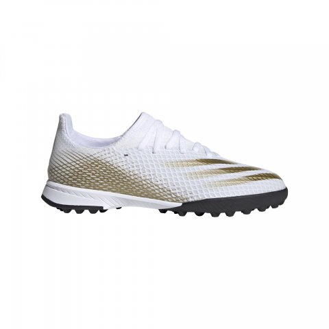 adidas Performance ADIDAS X GHOSTED.3 TF J FTWWHT/METGOL/CBLACK