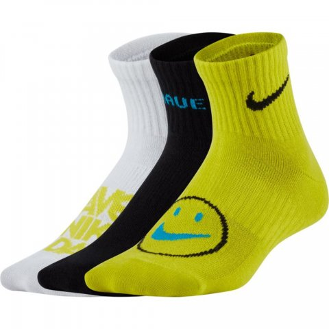 Nike Nike Everyday Big Kids' Lightweight Ankle Socks