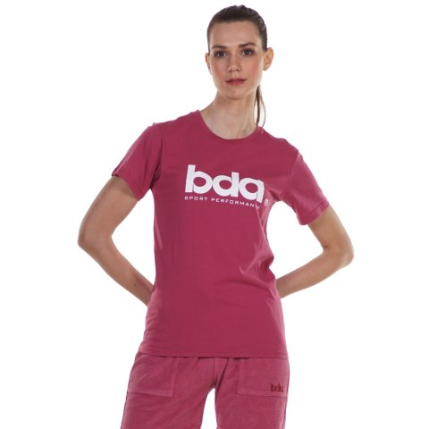 Body Action BODY ACTION WOMEN'S CLASSIC SHORT SLEEVE TEE D. PINK